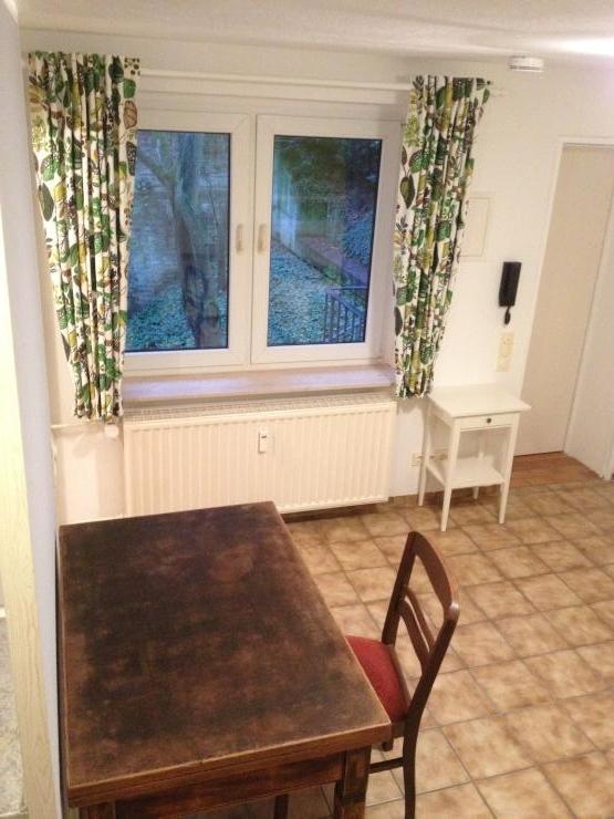 kleines h uschen im garten nahe mirker bahnhof nordbahntrasse 1 zimmer wohnung in wuppertal. Black Bedroom Furniture Sets. Home Design Ideas