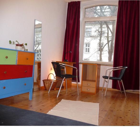 hh altona sch nes helles m bliertes zimmer mit garten wg zimmer in hamburg altona altstadt. Black Bedroom Furniture Sets. Home Design Ideas