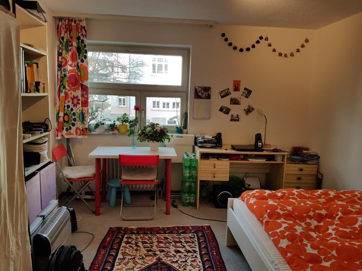 saubere voll m blierte ein zimmer wohnung zur zwischenmiete 1 zimmer wohnung in freiburg im. Black Bedroom Furniture Sets. Home Design Ideas