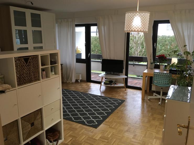 sch ne 2 zimmer wohnung mit gro em balkon wohnung in m nchen bogenhausen. Black Bedroom Furniture Sets. Home Design Ideas