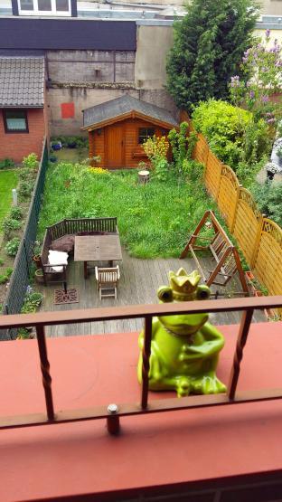 villa kunterbunt 2 zimmer in wundersch nem gem tlichen reihenhaus zu vermieten wg duisburg. Black Bedroom Furniture Sets. Home Design Ideas