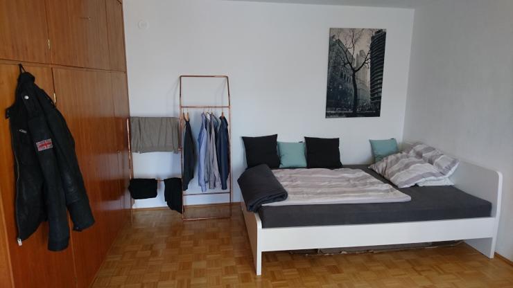 1 zimmer appartement im antonsviertel zwischenmiete 1 zimmer wohnung in augsburg antonsviertel. Black Bedroom Furniture Sets. Home Design Ideas