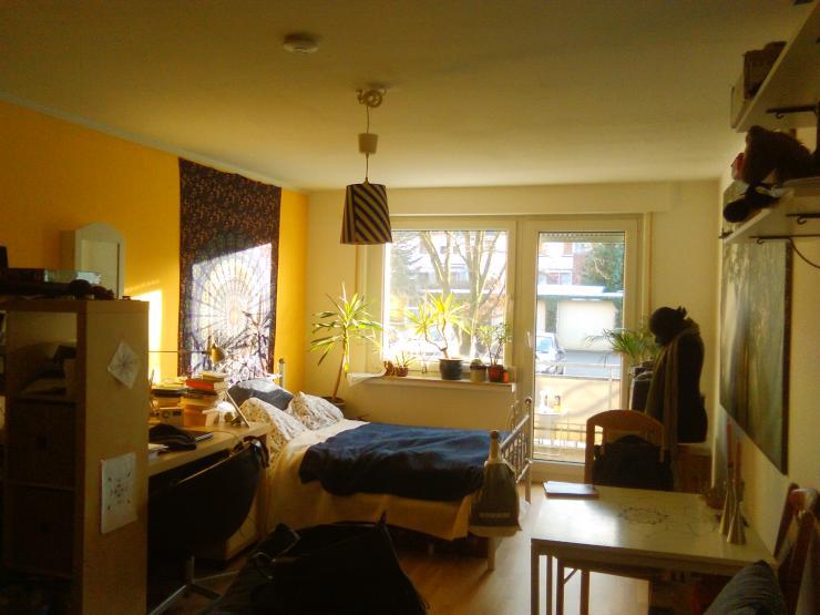ruhige 1 zimmer wohnung im angenehmen mehrfamilienhaus 1 zimmer wohnung in osnabr ck sch lerberg. Black Bedroom Furniture Sets. Home Design Ideas