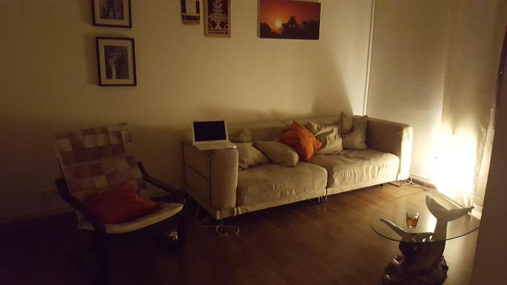 sch ne m belierte 2 zimmer wohnung mit super verkehrsanbindung n he city wohnung in frankfurt. Black Bedroom Furniture Sets. Home Design Ideas