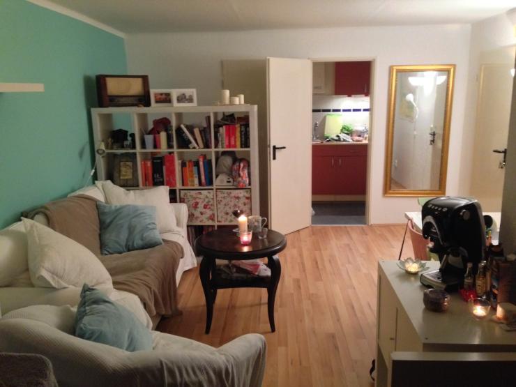 super gelegene 1 zimmer wohnung nahe viertel und innenstadt zur zwischenmiete 1 zimmer wohnung. Black Bedroom Furniture Sets. Home Design Ideas