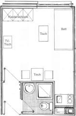 wohnungen m nster 1 zimmer wohnungen angebote in m nster. Black Bedroom Furniture Sets. Home Design Ideas