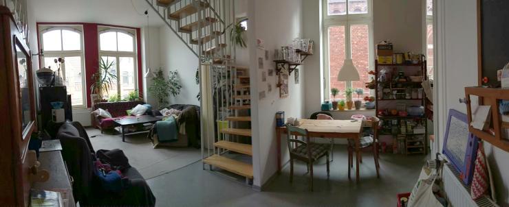 wohnen in der alten schokoladenfabrik wg zimmer hannover. Black Bedroom Furniture Sets. Home Design Ideas