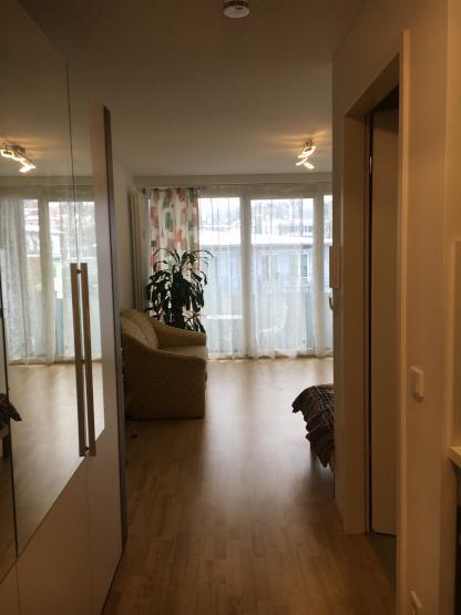 helle und moderne wohnung direkt bei der uni 1 zimmer wohnung in passau altstadt. Black Bedroom Furniture Sets. Home Design Ideas