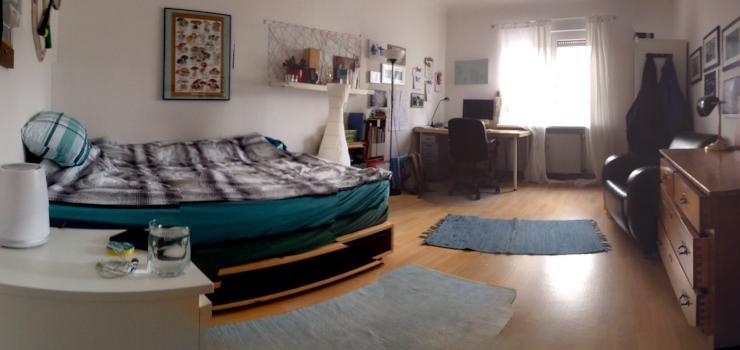 18 quadratmeter nur f r dich super zimmer zur zwischenmiete wohngemeinschaft mannheim. Black Bedroom Furniture Sets. Home Design Ideas