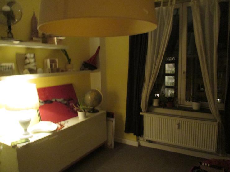 m bliertes 16m zimmer mit hochbett wg zimmer in dresden altstadt. Black Bedroom Furniture Sets. Home Design Ideas