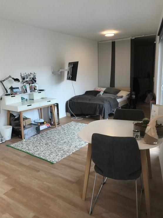 sch ne moderne ein zimmer wohnung zur zwischenmiete unin he 1 zimmer wohnung in k ln lindenthal. Black Bedroom Furniture Sets. Home Design Ideas