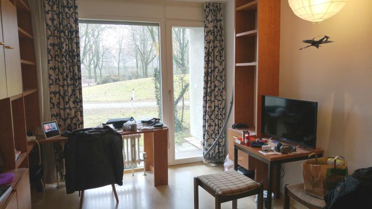 1 zimmer wohnung all inclusive wohnen 1 zimmer wohnung in m nchen au haidhausen. Black Bedroom Furniture Sets. Home Design Ideas