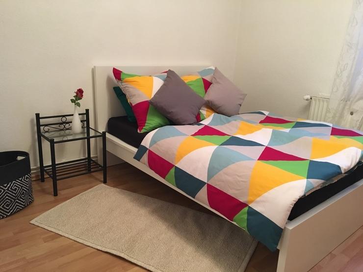 gem tliches apartment 4 min bis messe und hauptbahnhof. Black Bedroom Furniture Sets. Home Design Ideas