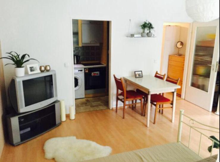 helles 1 zimmer appartement in sch ner ruhiger lage uni. Black Bedroom Furniture Sets. Home Design Ideas