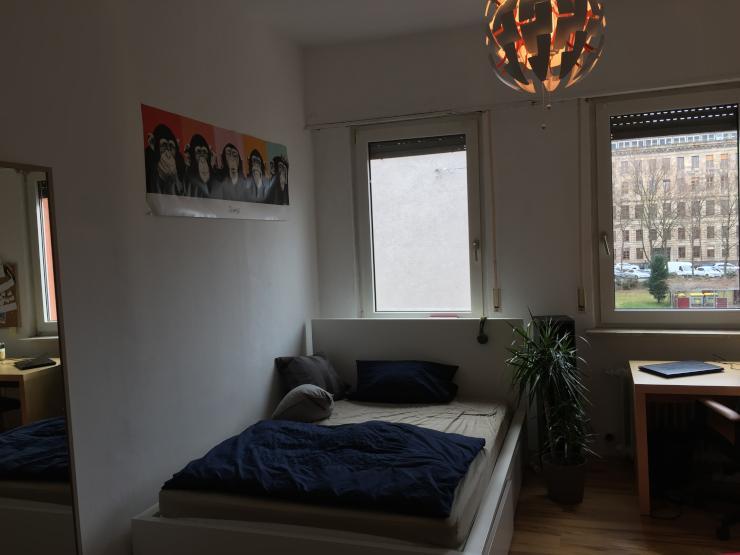 m bliertes zimmer in entspannter 4er wg mitten in mannheim wgzimmer mannheim quadrate. Black Bedroom Furniture Sets. Home Design Ideas