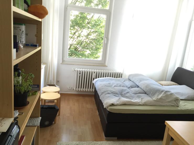 gem tliche 1 zimmer wohnung in bestlage 1 zimmer wohnung in duisburg neudorf nord. Black Bedroom Furniture Sets. Home Design Ideas