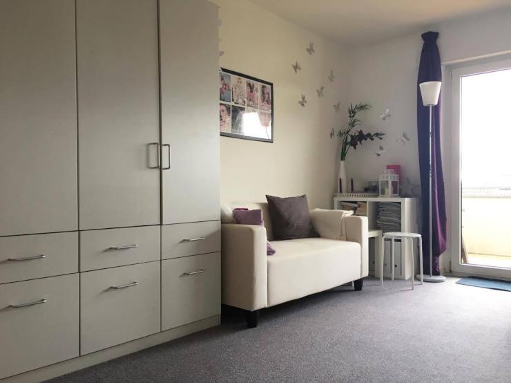 wundersch ne 1 zimmer wohnung mit s dbalkon 1 zimmer wohnung in konstanz petershausen. Black Bedroom Furniture Sets. Home Design Ideas