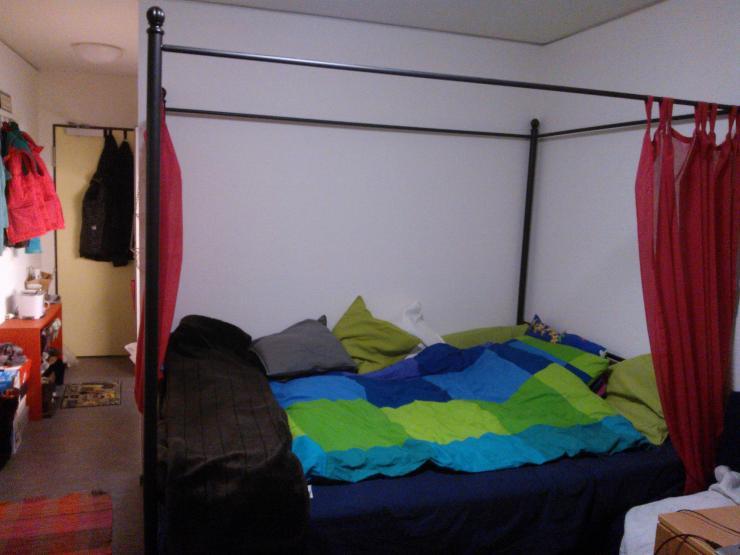 semesterferien in bremen uni nah und m bliert 1 zimmer wohnung in bremen horn. Black Bedroom Furniture Sets. Home Design Ideas