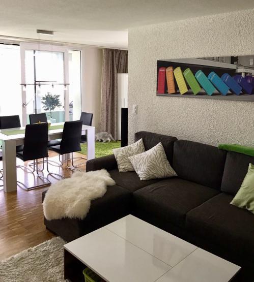 M bliertes helles zimmer nur 20 min bis z rich hb for 12 by 14 living room