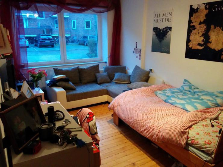 unm bliert 17qm zimmer in uninaher lage wg zimmer in kiel bl cherplatz. Black Bedroom Furniture Sets. Home Design Ideas