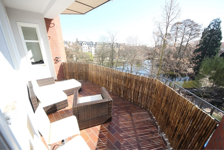 Super sommer balkon wohlf hl wohnung 140m in top lage for 1 zimmer wohnung offenbach