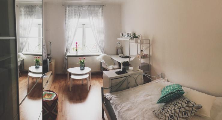 gem tliches m biliertes wg zimmer in zentrumsn he m bliertes wg zimmer dresden l btau. Black Bedroom Furniture Sets. Home Design Ideas