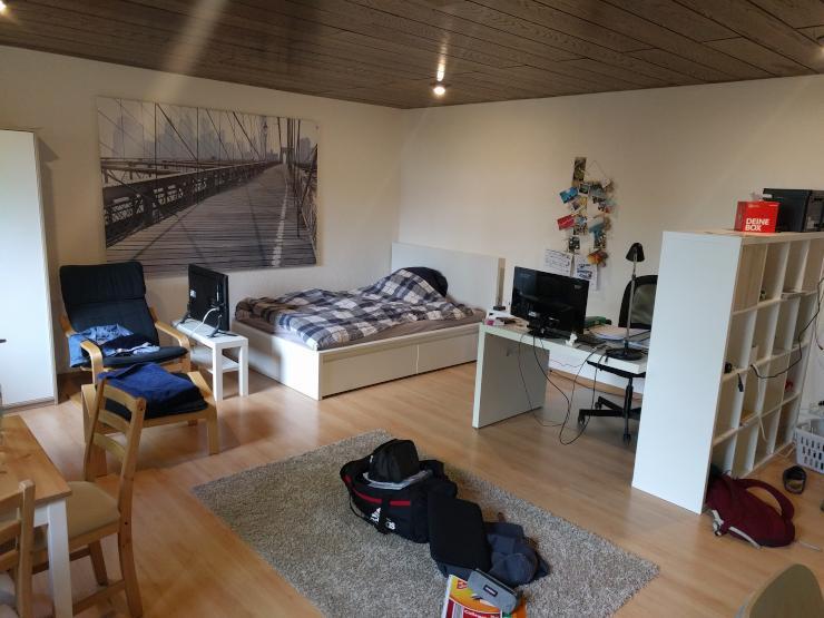 m blierte 1 zimmer wohnung in super lage 1 zimmer wohnung in mannheim neckarstadt. Black Bedroom Furniture Sets. Home Design Ideas