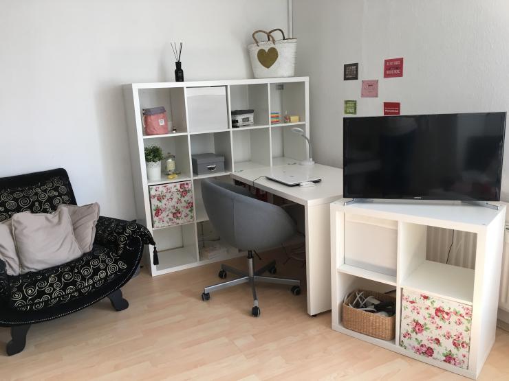 sch ne m bilierte 1 zimmer wohnung in den quadraten 1 zimmer wohnung in mannheim quadrate. Black Bedroom Furniture Sets. Home Design Ideas