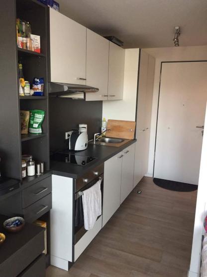 apartment zur zwischenmiete im studentenwohnheim. Black Bedroom Furniture Sets. Home Design Ideas