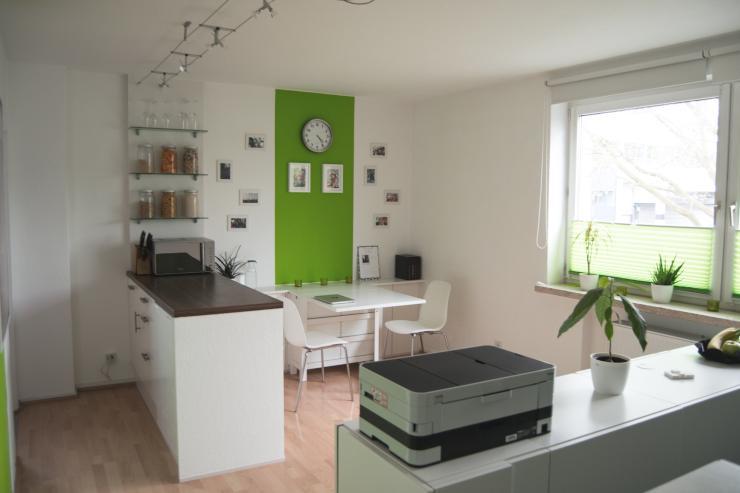 clevere 30qm wohnung m bliert nahe uni kulturbahnhof und innenstadt 1 zimmer wohnung in. Black Bedroom Furniture Sets. Home Design Ideas
