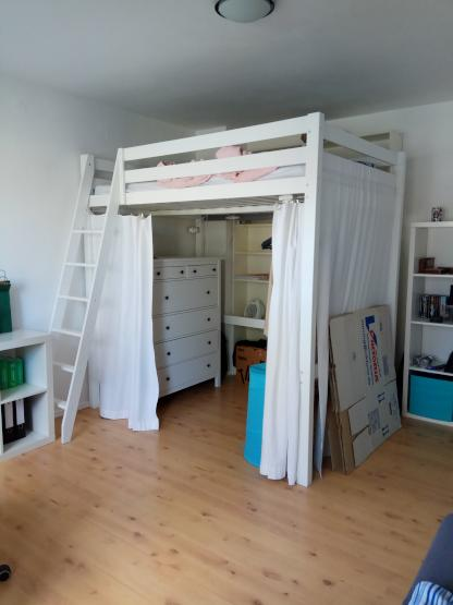 sehr ruhige 1 zimmer wohnung im woogsviertel zur. Black Bedroom Furniture Sets. Home Design Ideas