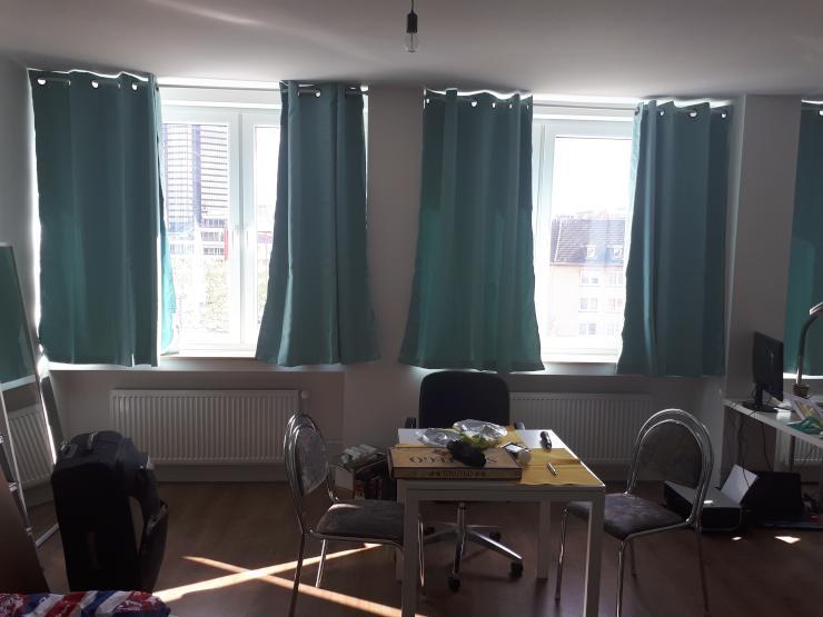 wohnung ca 40qm uninah studentenfreundlich komplett. Black Bedroom Furniture Sets. Home Design Ideas
