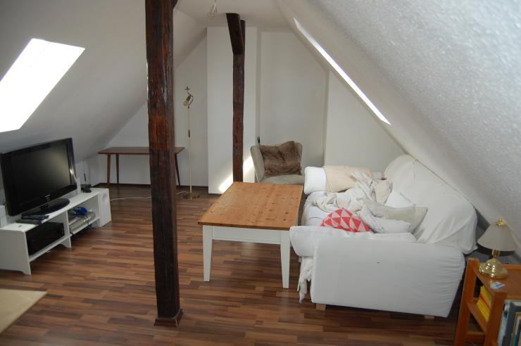 traum maisonette wohnung in sachsenhausen perfekte wg wohnung in frankfurt am main. Black Bedroom Furniture Sets. Home Design Ideas