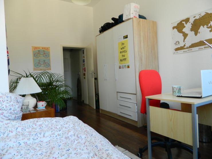 16qm zimmer in unkomplizierter 3er wg mit balkon wg suche frankfurt am main bahnhofsviertel. Black Bedroom Furniture Sets. Home Design Ideas