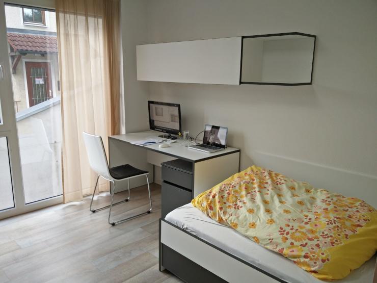 komfort apartment optimal gelegen 1 zimmer wohnung in heidenheim an der brenz. Black Bedroom Furniture Sets. Home Design Ideas