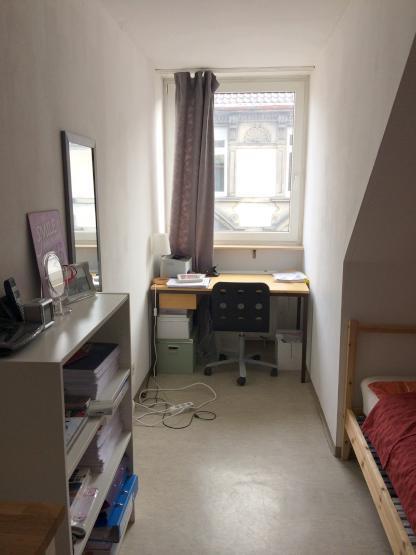g nstige und zentrale 1 zimmer wohnung direkt gegen ber der uni 1 zimmer wohnung in mannheim. Black Bedroom Furniture Sets. Home Design Ideas