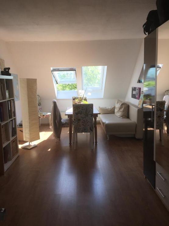 Zentrales, möbliertes Appartment - 1-Zimmer-Wohnung in Düsseldorf-Friedrichstadt