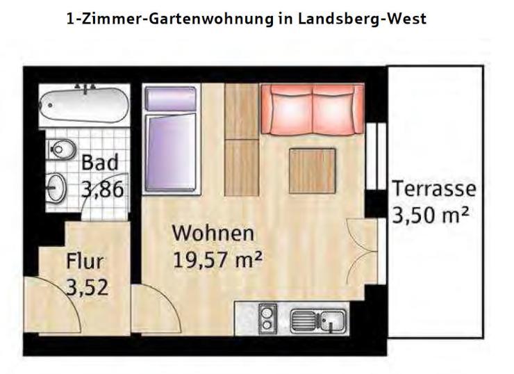 Wohnungen Landsberg Am Lech 1 Zimmer Wohnungen Angebote In