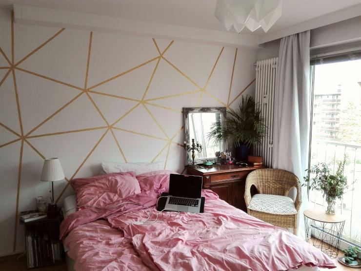 m bliertes studio f r den sommer 1 zimmer wohnung in frankfurt am main niederrad. Black Bedroom Furniture Sets. Home Design Ideas