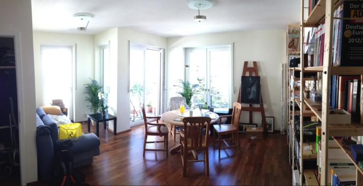 moderne zentral gelegene 2 zimmer wohnung in hd neuenheim wohnung in heidelberg neuenheim. Black Bedroom Furniture Sets. Home Design Ideas