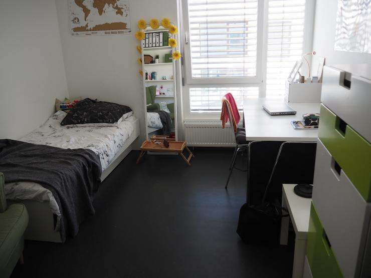nachmieter f r modernes 1 zimmer appartment im. Black Bedroom Furniture Sets. Home Design Ideas