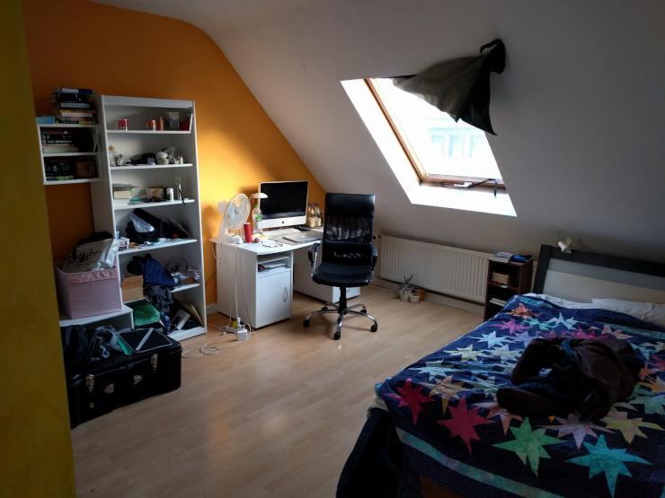 wundervolles zimmer 20qm in lebendiger freundlicher wg sucht neuen mitbewohner in schaukel im. Black Bedroom Furniture Sets. Home Design Ideas
