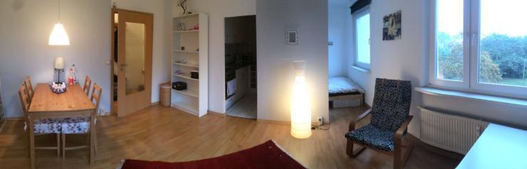 Wohnzimmer Mit Kche Und Bettnische