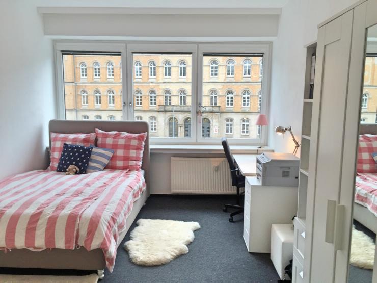 sch ne und helle 1 zimmer wohnung in der innenstadt 1 zimmer wohnung in osnabr ck innenstadt. Black Bedroom Furniture Sets. Home Design Ideas