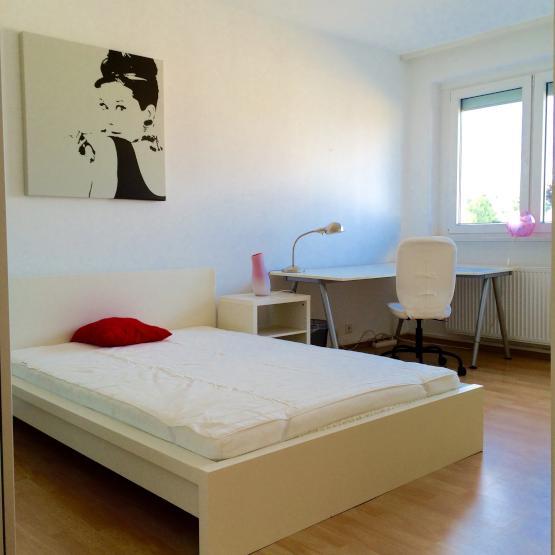 sch n m bliertes helles zimmer in gepflegter wohnung mit putzhilfe wg zimmer in frankfurt am. Black Bedroom Furniture Sets. Home Design Ideas
