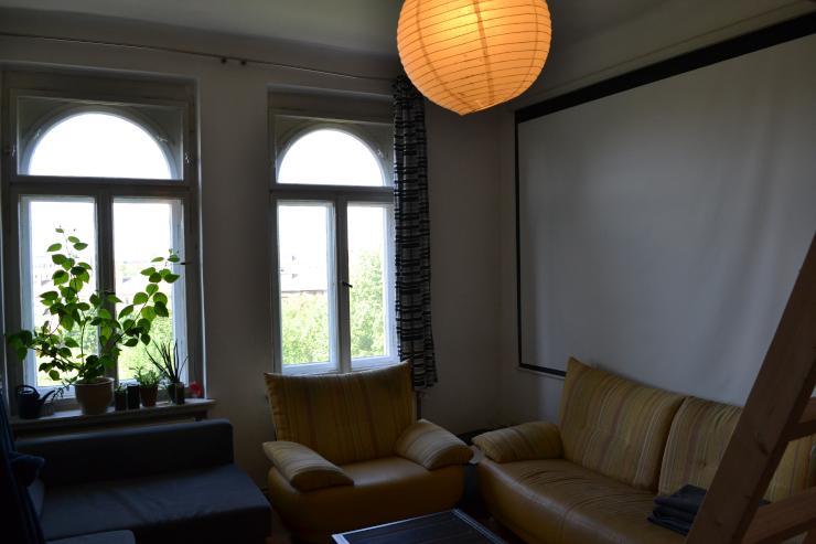 gro z giges zimmer 20qm mit parkblick auf zeit im. Black Bedroom Furniture Sets. Home Design Ideas