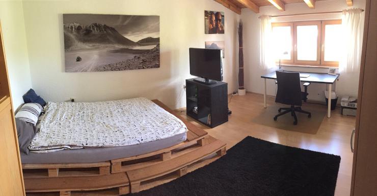 zentrales gro es 18qm zimmer in 4er wg zur zwischenmiete mit dachterasse zimmer m bliert rosenheim. Black Bedroom Furniture Sets. Home Design Ideas