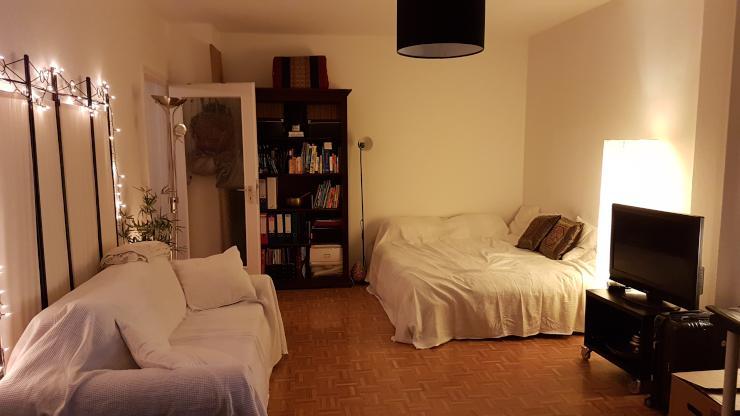 sch ne ein zimmer wohnung in zentraler lage maxvorstadt 1 zimmer wohnung in m nchen maxvorstadt. Black Bedroom Furniture Sets. Home Design Ideas