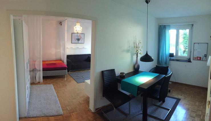 Citynahe, Möblierte 1.5 Zimmer Wohnung Zur Untermiete (mind. 1 Jahr) U2013  Optimal Für Young Professionals