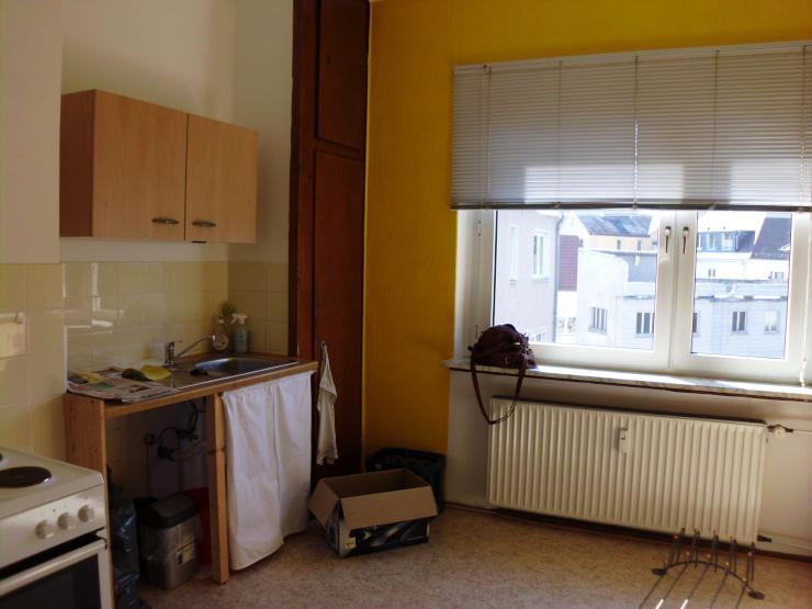 sch ne zentrale 2 zimmerwohnung mit gro er k che wg geeignet wohnung in gie en. Black Bedroom Furniture Sets. Home Design Ideas